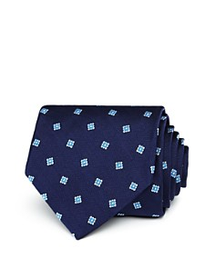 Brooks Brothers Tossed Squares Classic Tie - Bloomingdale's_0