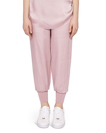 Ted Baker - Ted Says Relax Aibrey Satin Jogger Pants
