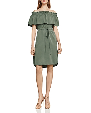 Bcbgmaxazria Evangelie Off-the-Shoulder Dress