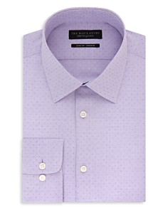 The Men's Store at Bloomingdale's Micro Squares Slim Fit Stretch Dress Shirt - 100% Exclusive_0