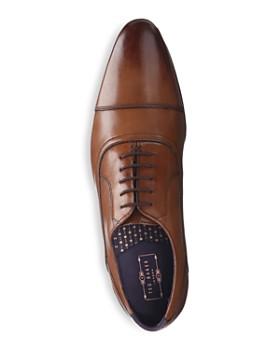 Ted Baker - Men's Karney Leather Cap Toe Oxfords