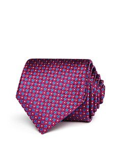 Canali Mini Floral Medallion Classic Tie - Bloomingdale's_0