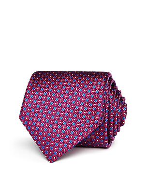 Canali Mini Floral Medallion Classic Tie