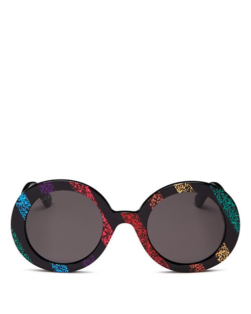 22142ab80 Gucci Women's Round Sunglasses, 52mm | Bloomingdale's