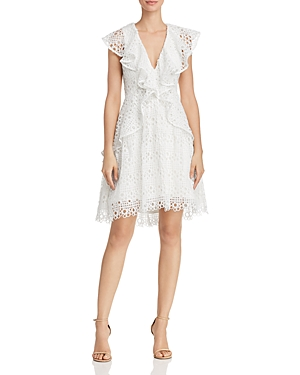Elliatt INTERLUDE RUFFLED LACE DRESS