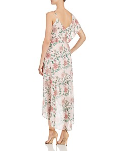 Adelyn Rae - Hannah Asymmetric Floral-Print Dress