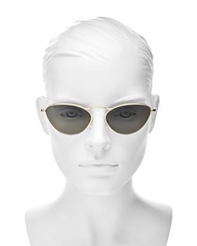 Oliver Peoples -  Women's Lelaina Cat Eye Sunglasses, 56mm
