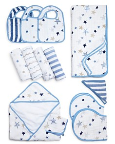 Aden and Anais Rock Star Swaddles, Bibs, Hooded Towel & Blanket - Bloomingdale's_0