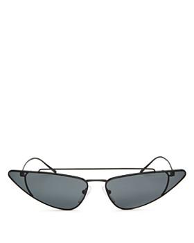 Prada - Women's UltraVox Slim Brow Bar Cat Eye Sunglasses, 68mm