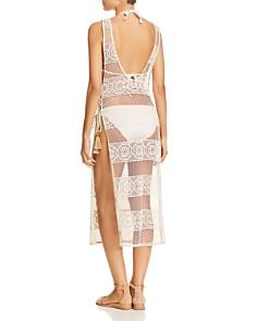PilyQ - Joy Crocheted Lace Dress Swim Cover-Up