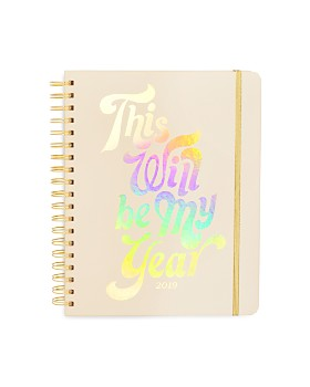 ban.do - This Will Be My Year Large 2019 Calendar Year Planner