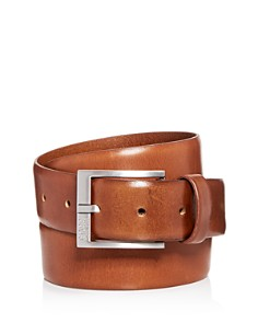 HUGO Gerron Replace Distressed Leather Belt - Bloomingdale's_0