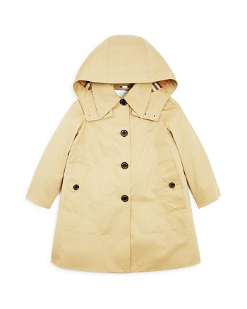 aa8343498 Burberry Girls' Bethel Trench Coat - Little Kid, Big Kid ...