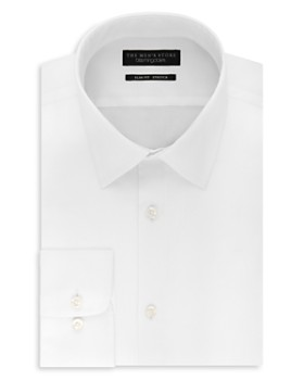 The Men's Store at Bloomingdale's - Solid Stretch Slim Fit Dress Shirt - 100% Exclusive
