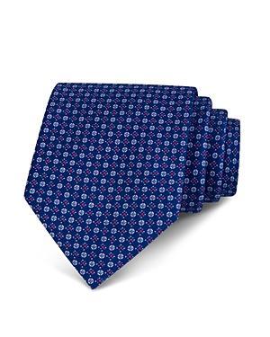 The Men's Store at Bloomingdale's Mini Diamond Geometric Neat Classic Tie - 100% Exclusive