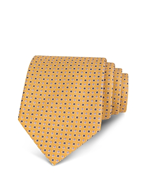 The Men's Store at Bloomingdale's Mini Diamond Geometric Neat Classic Tie - 100% Exclusive