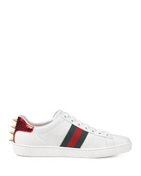 b552f287d2a ... Gucci - Women s Ace Studded Leather Sneaker