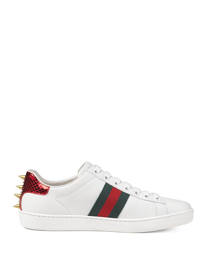 14d12542281 Gucci - Women s Ace Studded Leather Sneaker