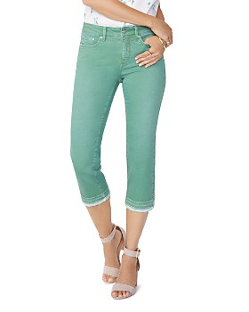 NYDJ - Released-Hem Capri Jeans in Cactus