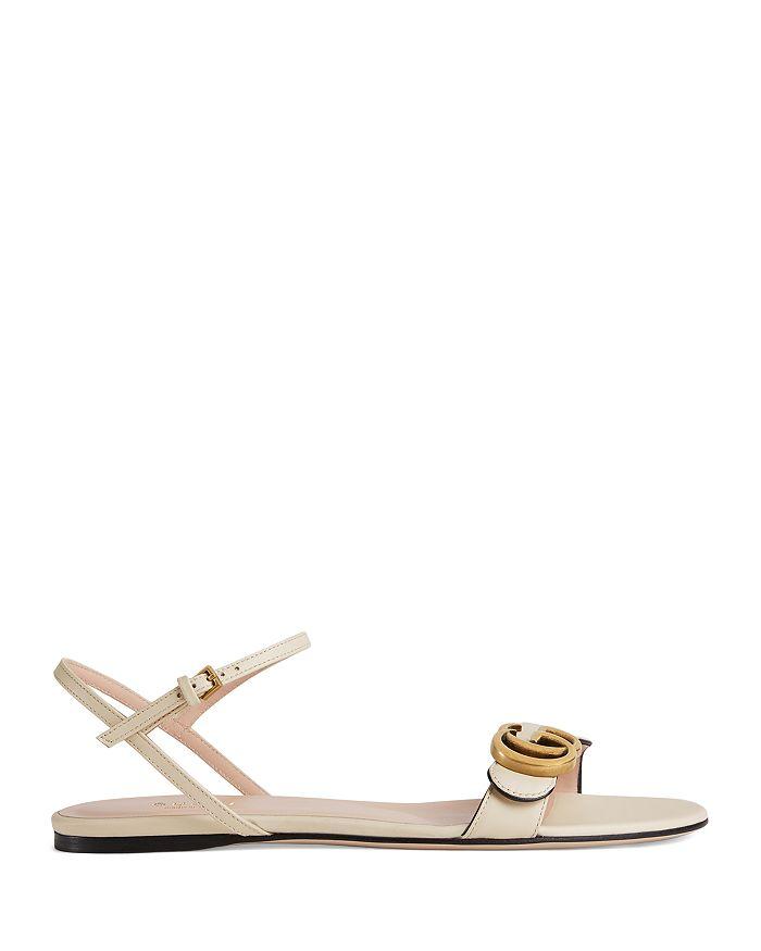 9e2298235348 Gucci - Women s Marmont Leather Double G Sandals