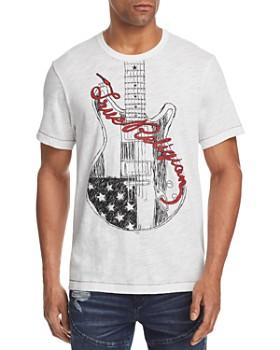 True Religion - Guitar Logo Tee