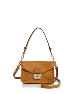 MADEMOISELLE SMALL PERFORATED LEATHER CROSSBODY