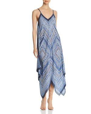 NIC AND ZOE NIC+ZOE SCARF PRINT MAXI DRESS - 100% EXCLUSIVE