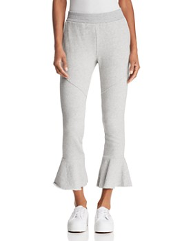 Generation Love - Veronica Cropped Flared Sweatpants