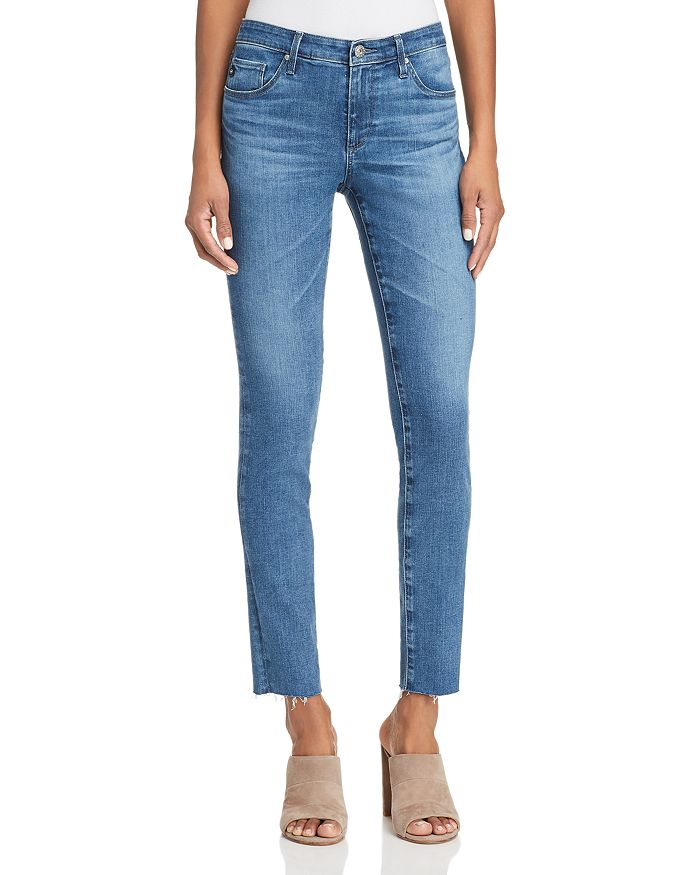 AG - Super Skinny Ankle Jeans in New Wave - 100% Exclusive