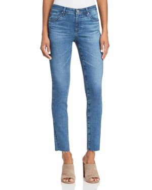 Ag Super Skinny Ankle Jeans in New Wave - 100% Exclusive