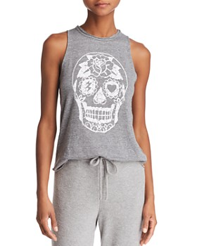 CHASER - Sugar Skull Graphic Tank - 100% Exclusive