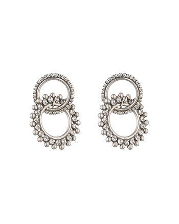 Dannijo - Truby Silver Earrings