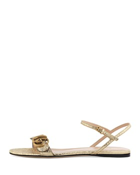Gucci - Women's Leather Double G Sandals