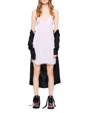 CAROLINA SILK SLIP DRESS