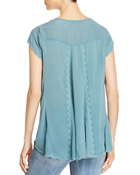 Johnny Was - Lamonay Embroidered Top