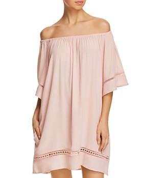 Muche et Muchette - City Wide Short-Sleeve Dress Swim Cover-Up