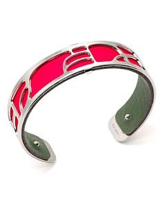 Les Georgettes - Volute Reversible Two-Tone Open Cuff Bracelet