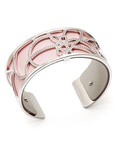 Les Georgettes - Pétales Reversible Two-Tone Open Cuff Bracelet
