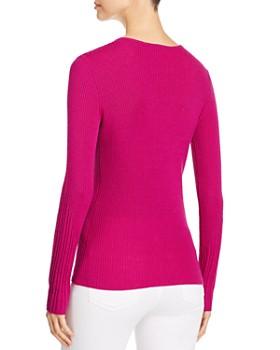 3d981662421fc ... Elie Tahari - Noeleen Ribbed Wool Sweater - 100% Exclusive