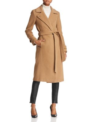 Aude Belted Double Faced Coat   100 Percents Exclusive by Mackage