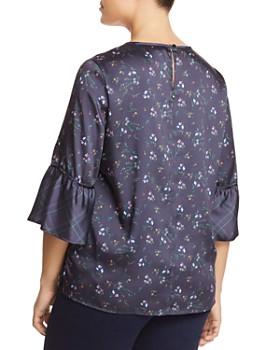 ... Marina Rinaldi - Baltico Floral Bell-Sleeve Top d8c9aef0e0
