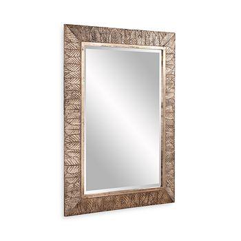 """Howard Elliott - Elrond Silver Leaf Mirror, 45"""" x 33"""""""