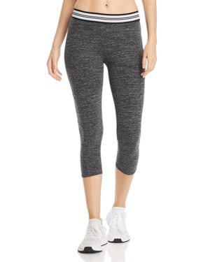 PERFORMANCE MELANGE CROPPED LEGGINGS