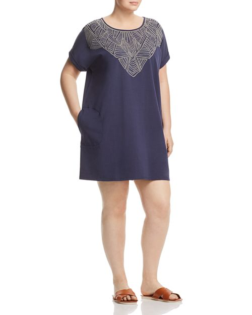 NIC and ZOE Plus - Luna Embroidered Shift Dress