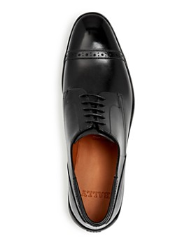 Bally - Men's Plintor Leather Apron Toe Loafers