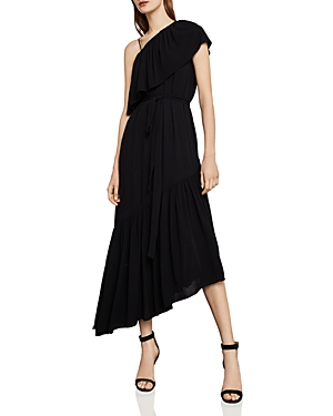 Bcbgmaxazria Conrad One-Shoulder Asymmetric Dress