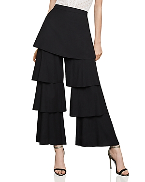Bcbgmaxazria Tiered Wide-Leg Pants