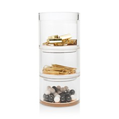kate spade new york Acrylic Stackable Desk Organizer Set, Strike Gold - Bloomingdale's_0