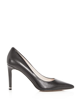 Kenneth Cole - Women's Riley Pointed Toe Leather High-Heel Pumps
