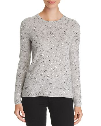 C by Bloomingdale's - Sequined Cashmere Sweater - 100% Exclusive
